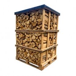 Palette Bois de chauffage 33 cm (1000kg) de bûches sèches