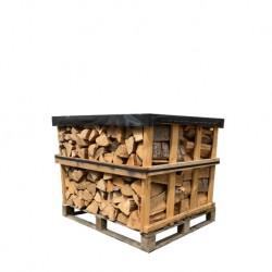 Palette de 66 packs (1000kg) de briquettes