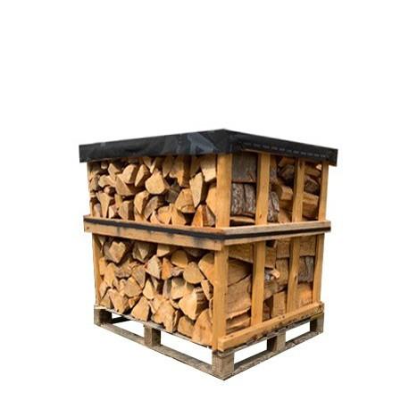 Palette Bois de chauffage 25 cm (800kg)